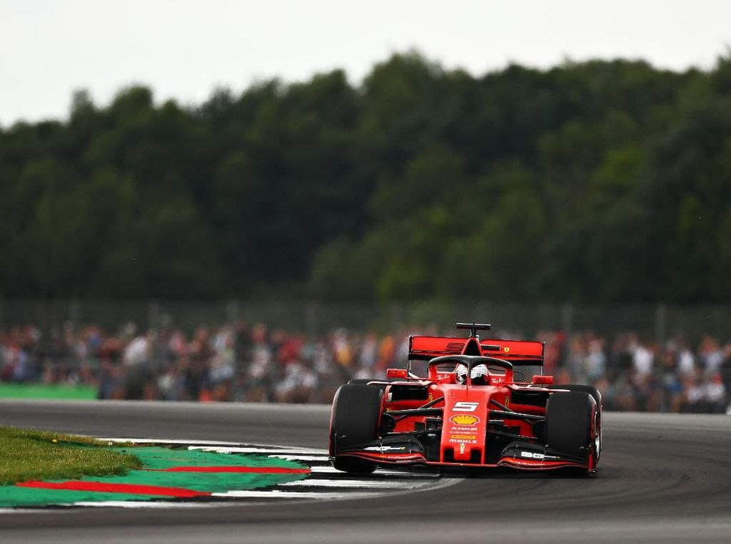 Vettel Tak Senang Hasil Kualifikasi GP Inggris