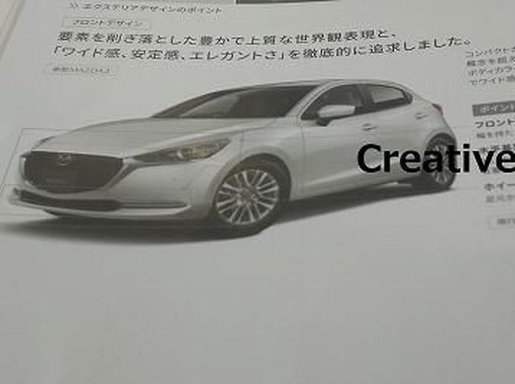 Begini Kira-kira Tampilan Mazda2 Versi Baru, Keren Nggak?
