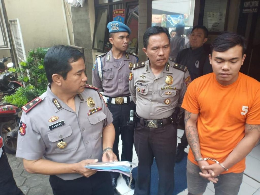 Polisi Bekuk Penusuk Warga di Andir Bandung