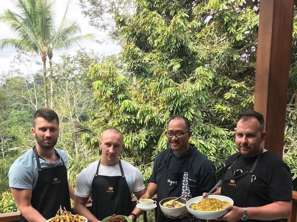 3 Chef Ternama Asal London Belajar Masak Rendang hingga Gado-gado