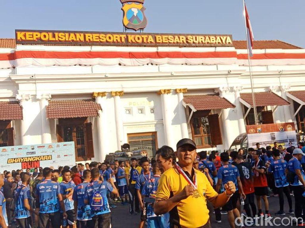 Ribuan Pelari Ramaikan Bhayangkara Run
