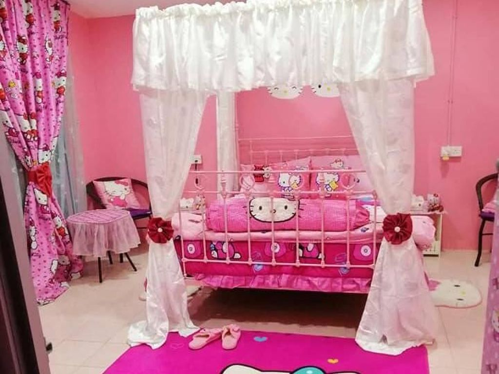 Foto: Ketika Rumah Warisan Tua Disulap Jadi Surganya Hello Kitty
