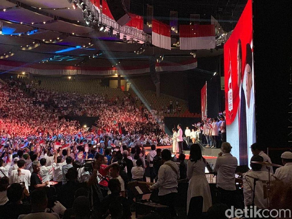 Usai Jokowi Pidato Visi Indonesia, Relawan Deklarasi Ikrar Anak Bangsa