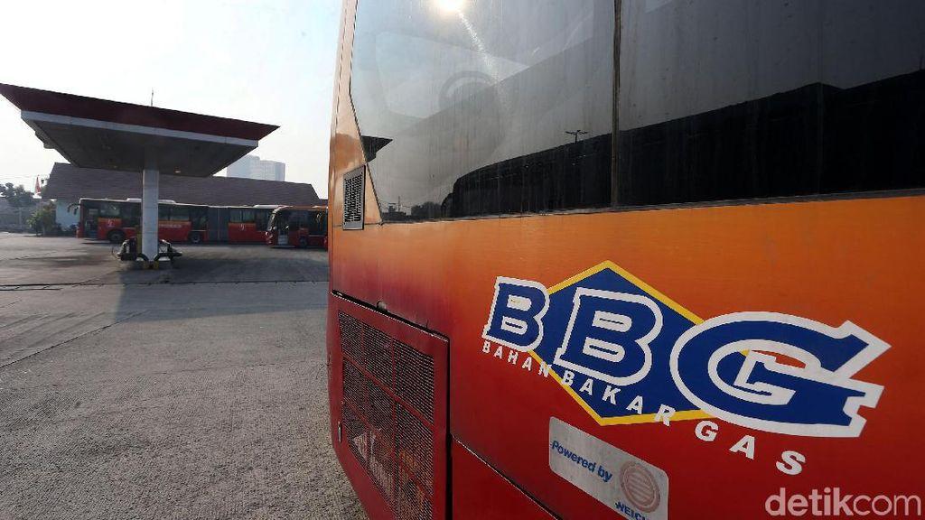 SPBG Pesing Tutup, Kini Jadi Tempat Parkir TransJakarta