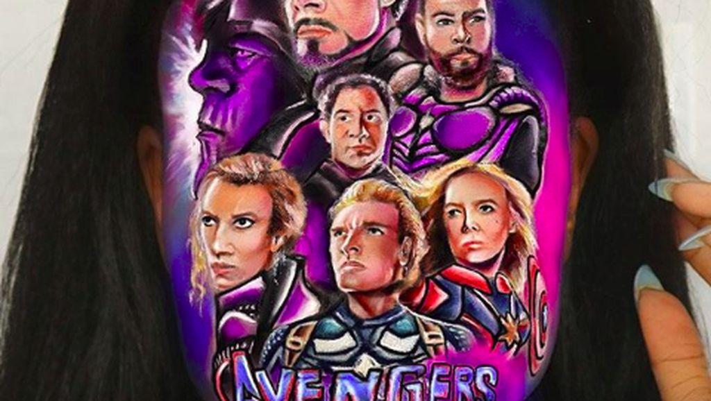 Keren! Lukisan Wajah Ilusi Dari Toys Story Hingga Avengers