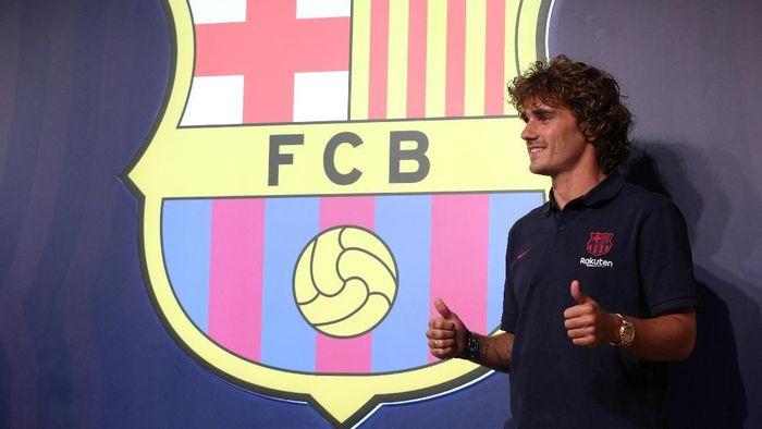 Antoine Griezmann ditebus Barcelona seharga 120 juta euro. (Foto: Albert Gea/Reuters)