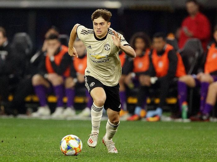 Winger anyar Manchester United, Daniel James. (Foto: Will Russell/Getty Images)