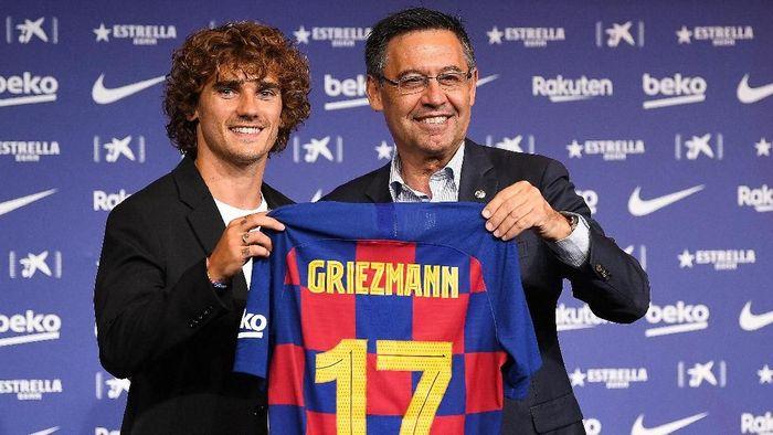 Kepindahan Antoine Griezmann ke Barcelona dilaporkan akan segera diselidiki Federasi Sepakboal Spanyol. (Foto: David Ramos/Getty Images)