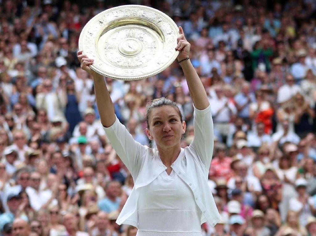 Simona Halep Ratu Wimbledon