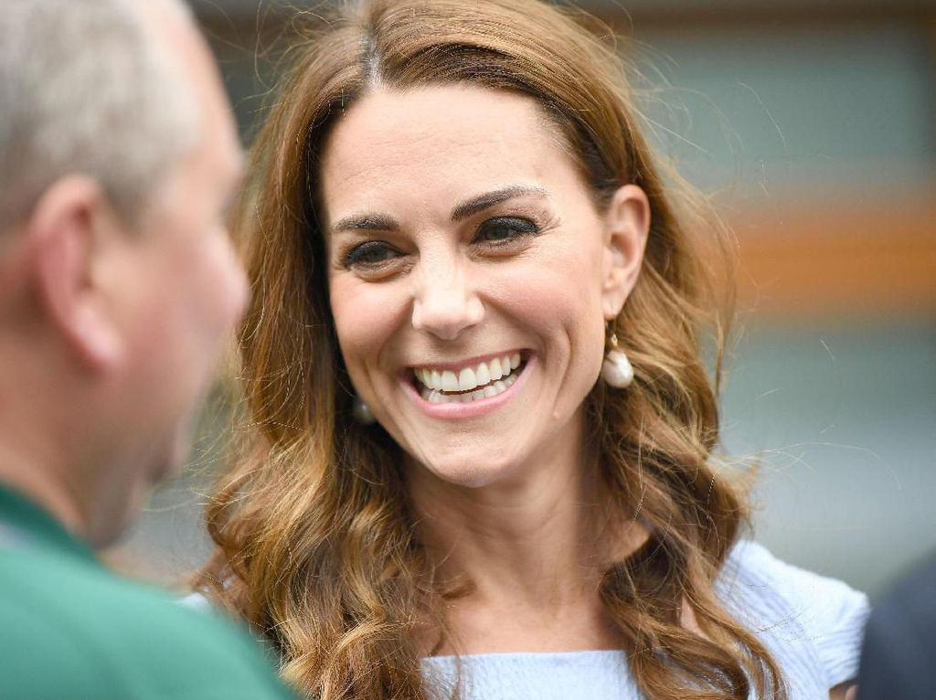 Momen Mesra Kate Middleton dan Pangeran William di Final Wimbeldon 2019