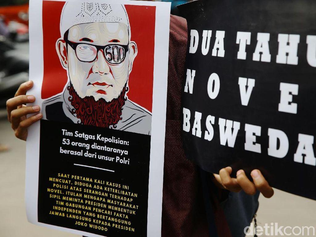 TPF Duga Ada 6 Kasus High Profile yang Bisa Latar Belakangi Teror Novel