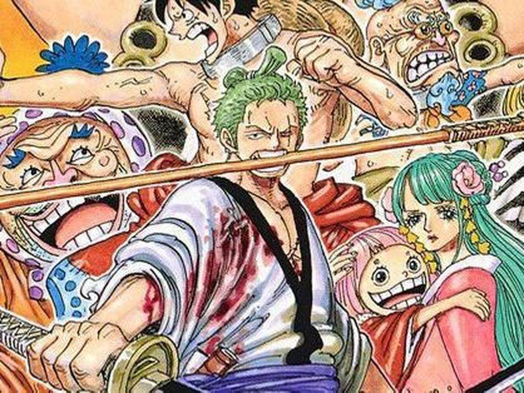 Bajak Laut Zoro One Piece Kini Jadi Komik Pendek