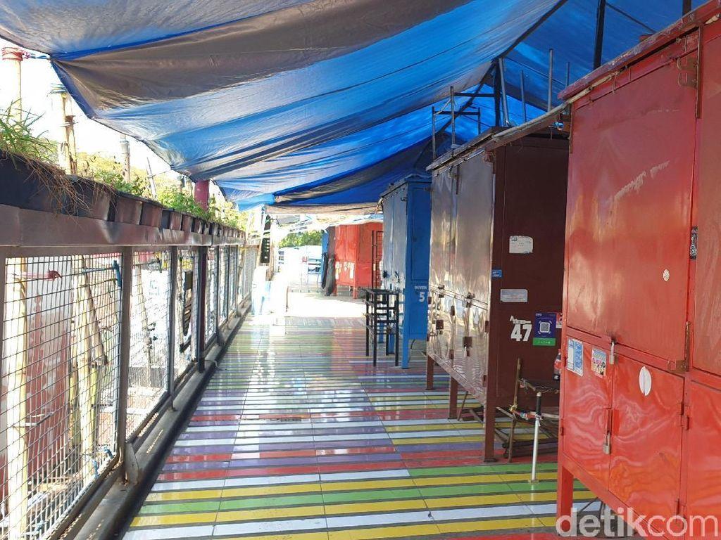 PKL Teras Cihampelas Tutup Kios, Pemkot: Pedagang Harus Kreatif