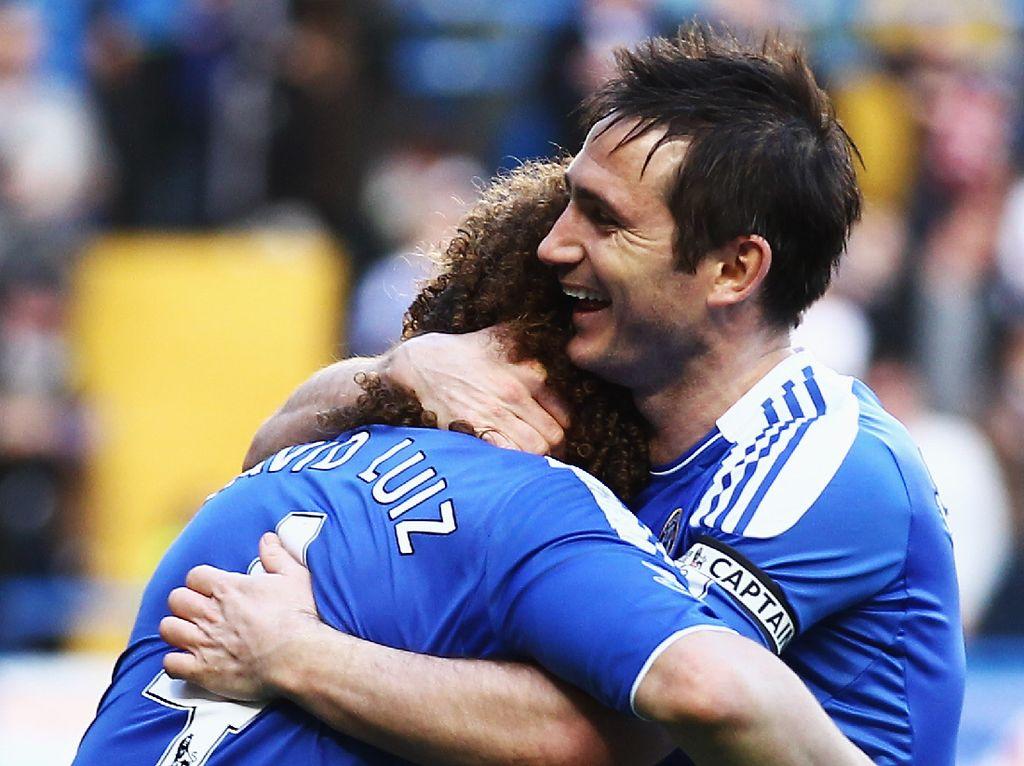 David Luiz: Lampard Tetap Wajib Antar Chelsea Juara