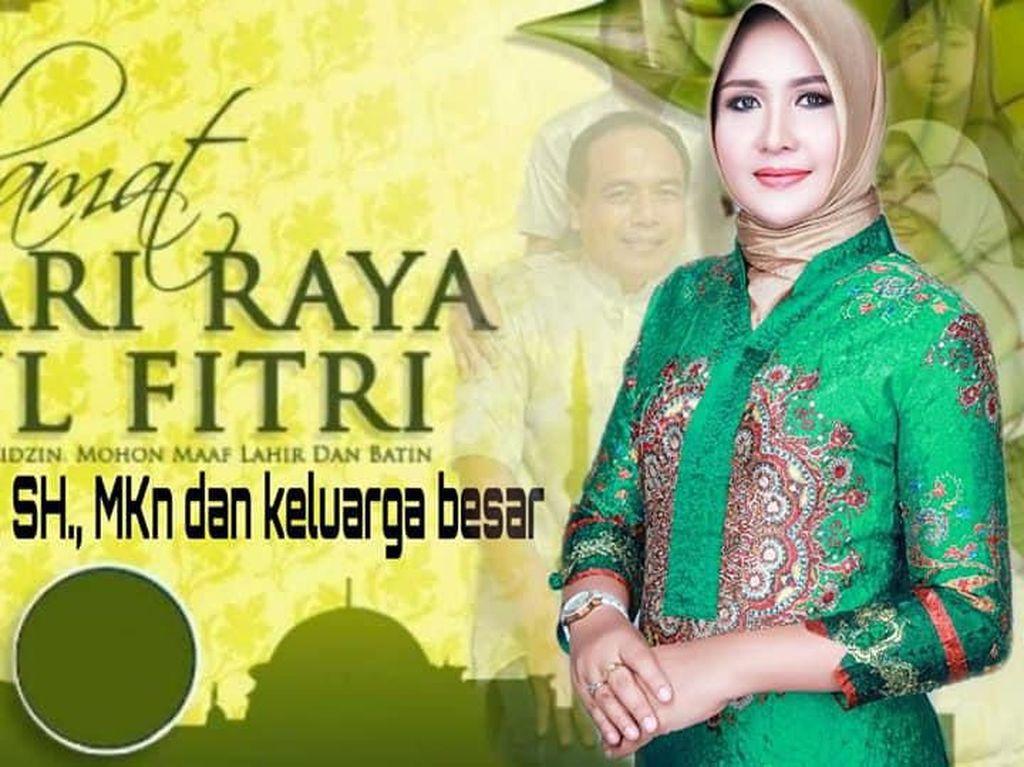 Pemakaian Foto Senator Terpilih Evi yang Dituding Kelewat Cantik Seizin KPU