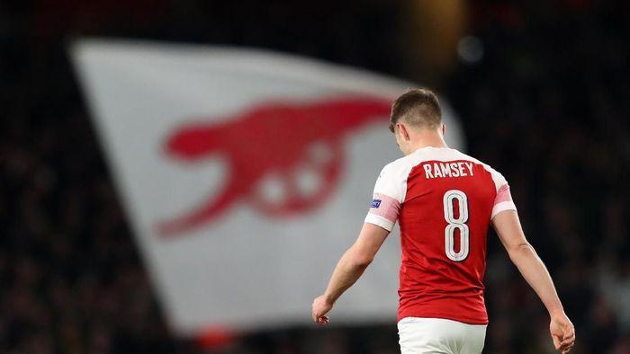 Aaron Ramsey pakai nomor 8 di Juventus (Catherine Ivill/Getty Images)