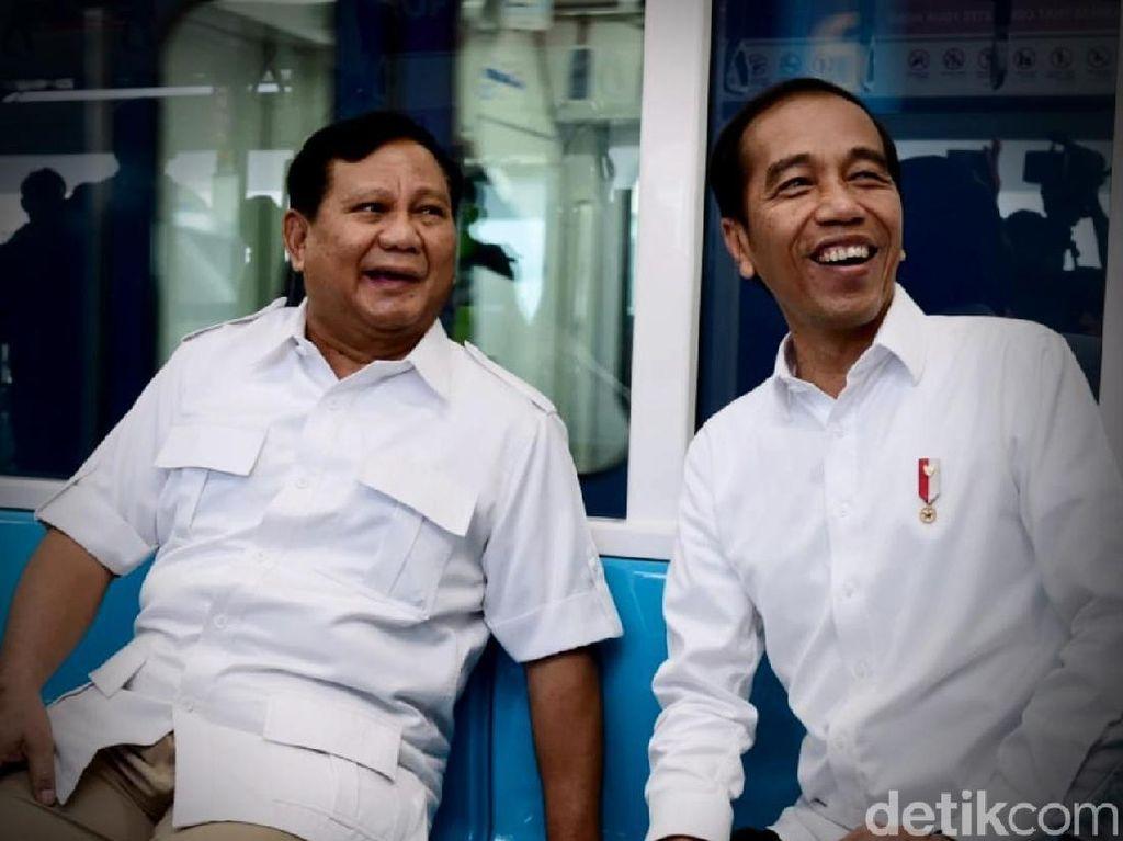 MPR: Pertemuan Jokowi-Prabowo Memberi Kesejukan pada Bangsa