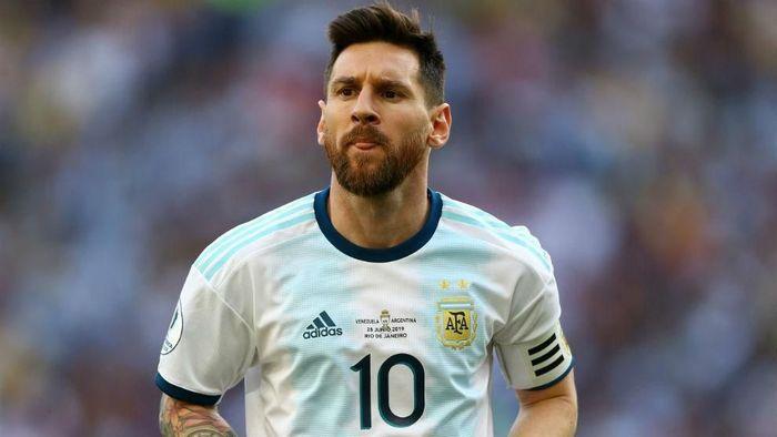 Lionel Messi dihukum larangan bertanding tiga bulan usai kecam CONMEBOL (Foto: Istimewa)