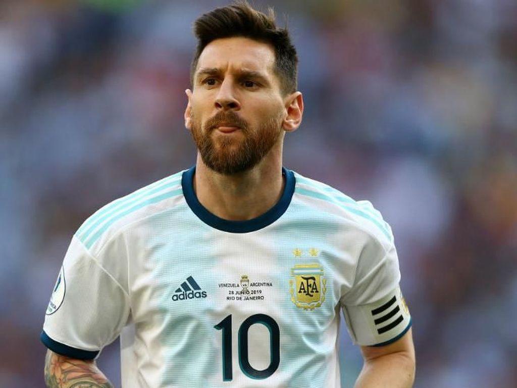 Sebut CONMEBOL Korup, Messi Dihukum Larangan Main Tiga Bulan