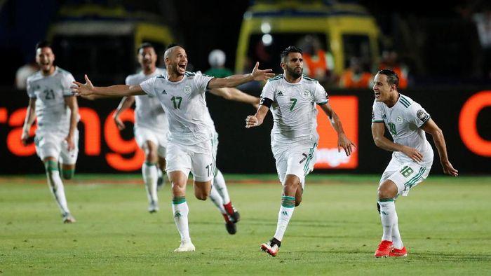 Aljazair akan menghadapi Senegal di final Piala Afrika 2019 (Foto: Amr Abdallah Dalsh/Reuters)