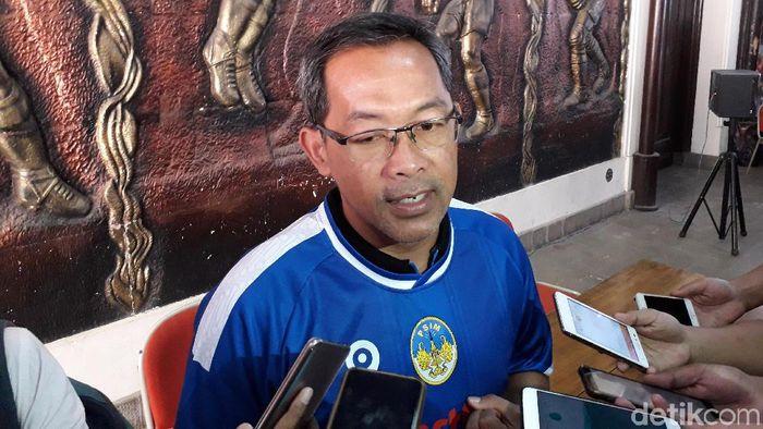 Aji Santoso resmi melatih PSIM Yogyakarta. (Foto: Ristu Hanafi/detikSport)