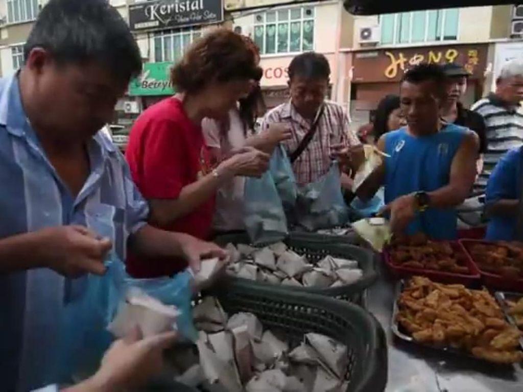 Murah Banget! Nasi Lemak di Penang ini Hanya Seharga Rp. 1.500