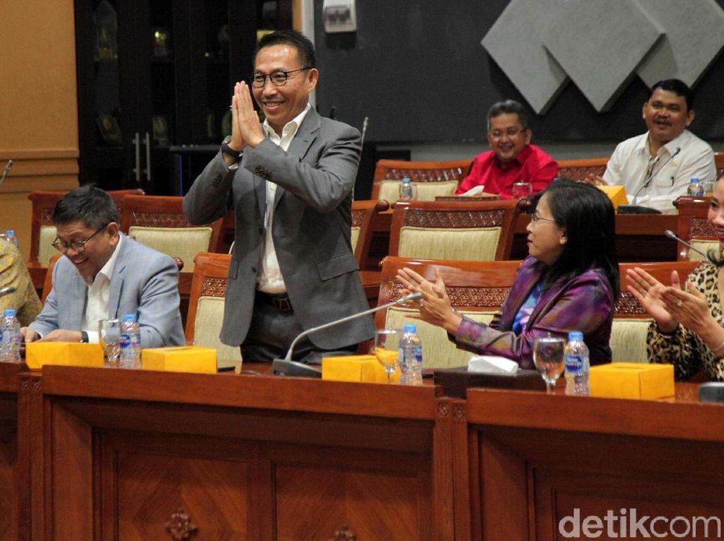 Herman Hery Jadi Wakil Ketua Komisi III DPR