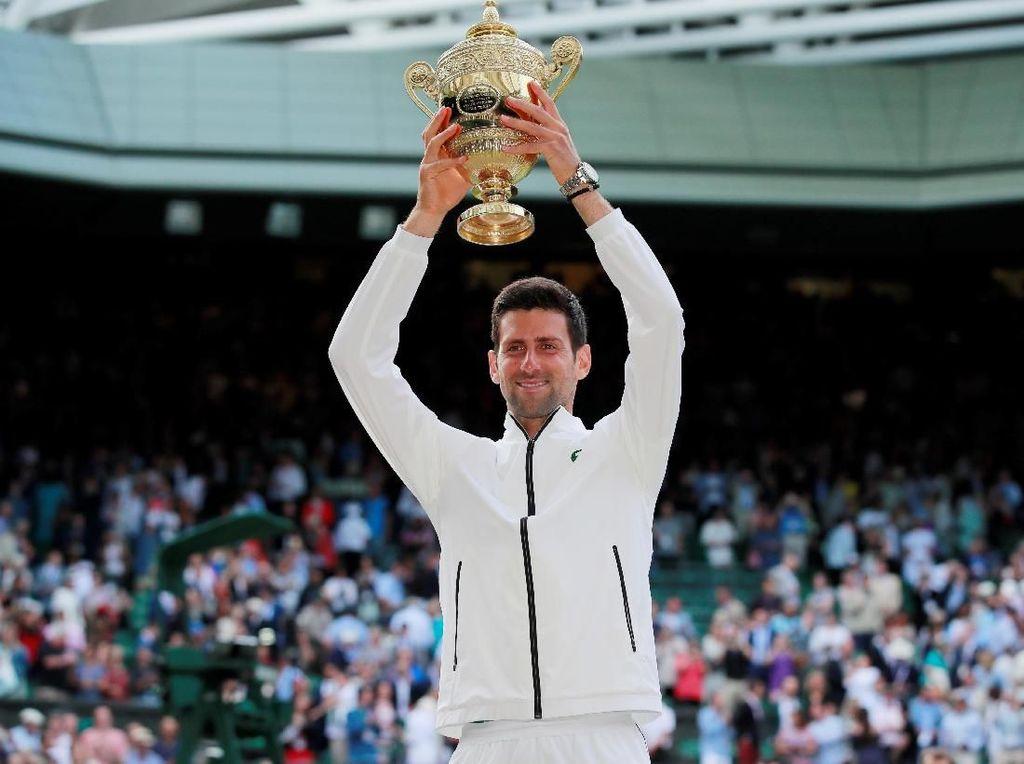 Duel Sengit di Final Wimbledon, Djokovic Juaranya
