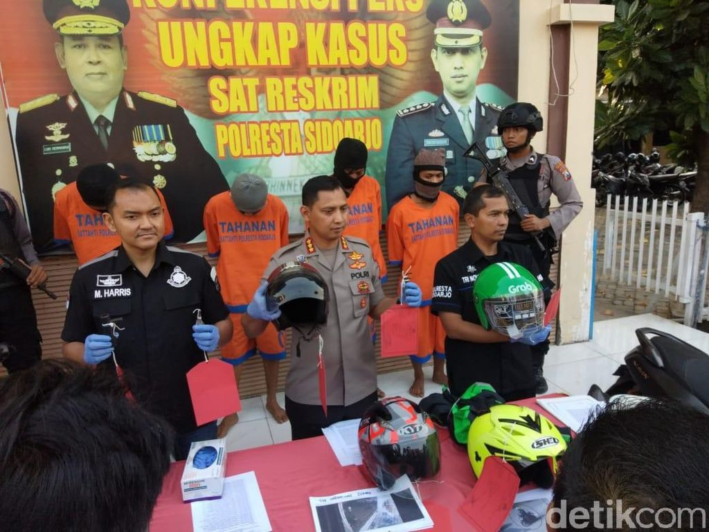 Kakak Beradik Asal Surabaya Kompak Curi Motor di 31 TKP