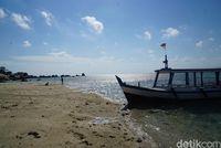 Kapal-kapal pengantar wisatawan (Shinta Angriyana/detikcom)