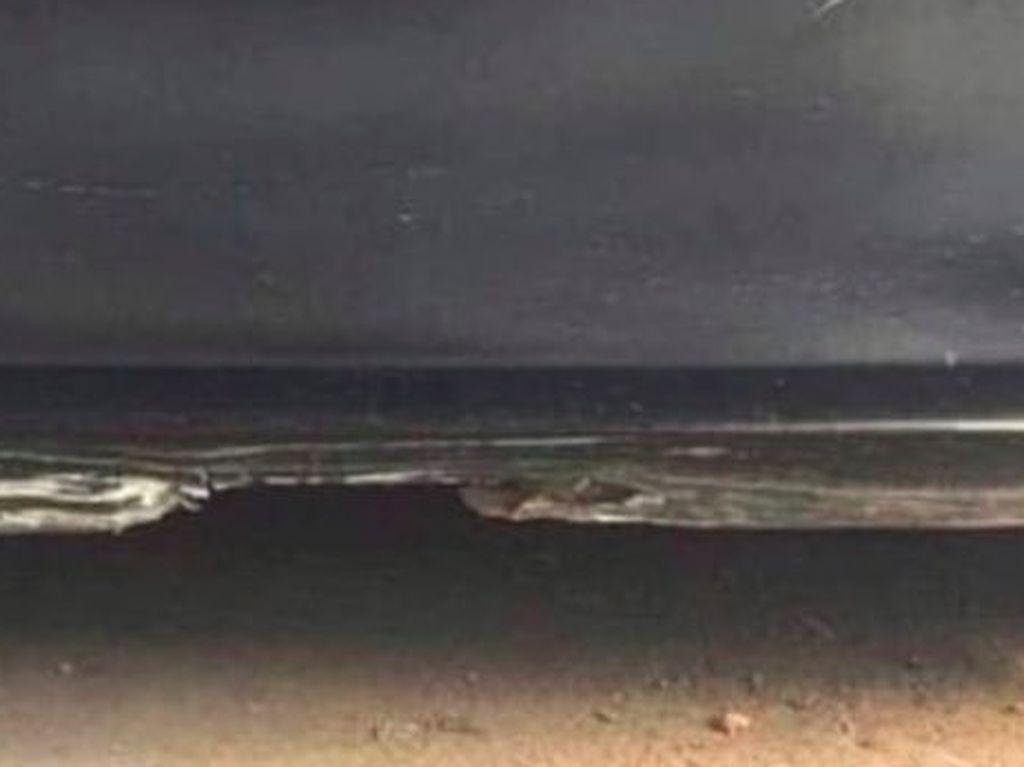 Foto Pintu Mobil atau Pantai? Ilusi Optik Ini Bikin Netizen Bingung