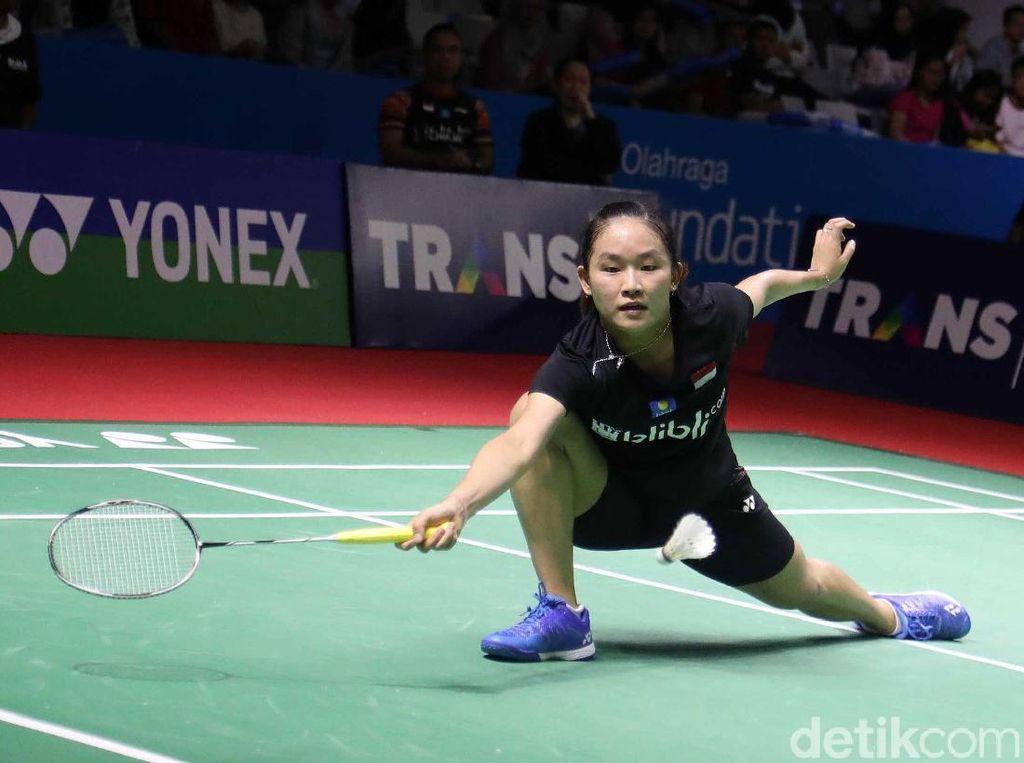 Ruselli Hartawan Kalah di Babak Pertama Indonesia Open