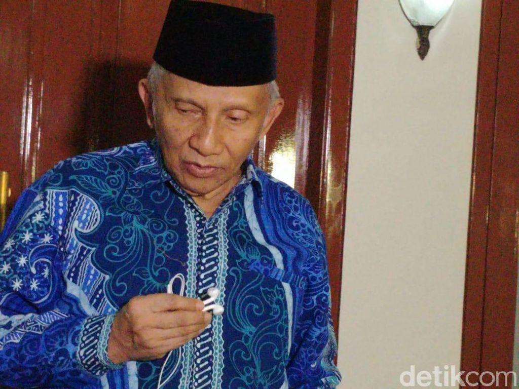 Amien Rais: Setelah Pertemuan Prabowo-Jokowi Tinggal Cebong Bersayap