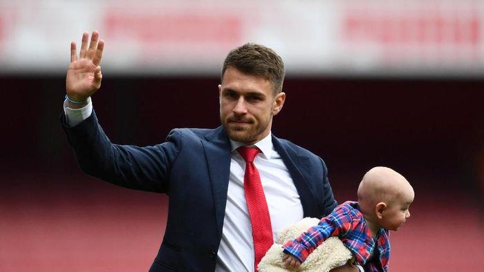 Aaron Ramsey jadi pemain Wales ketiga yang memperkuat Juventus (Clive Mason/Getty Images)