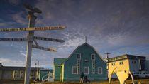 Potret Kota Tanpa Matahari Selama 2 Bulan