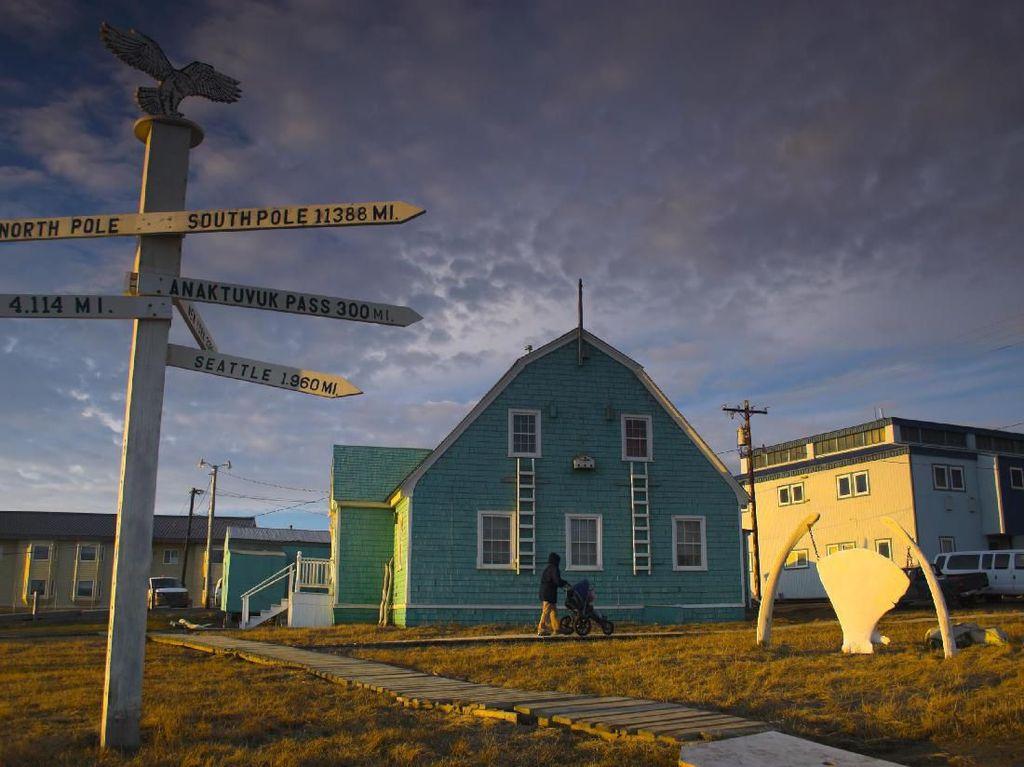 Utqiagvik, Kota Pertama Tanpa Matahari Sampai 2 Bulan ke Depan
