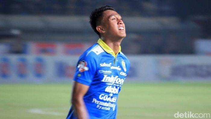 Febri Hariyadi jadi pahlawan Persib Bandung. (Foto: Wisma Putra)