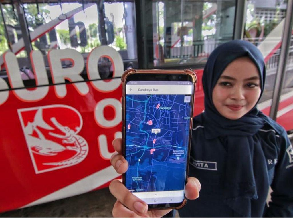 Aplikasi Transportasiku Permudah Layanan Transportasi Warga Surabaya