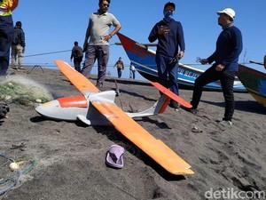 UGM Uji Coba Drone Amphibi untuk Pantau Daerah Rawan Bencana