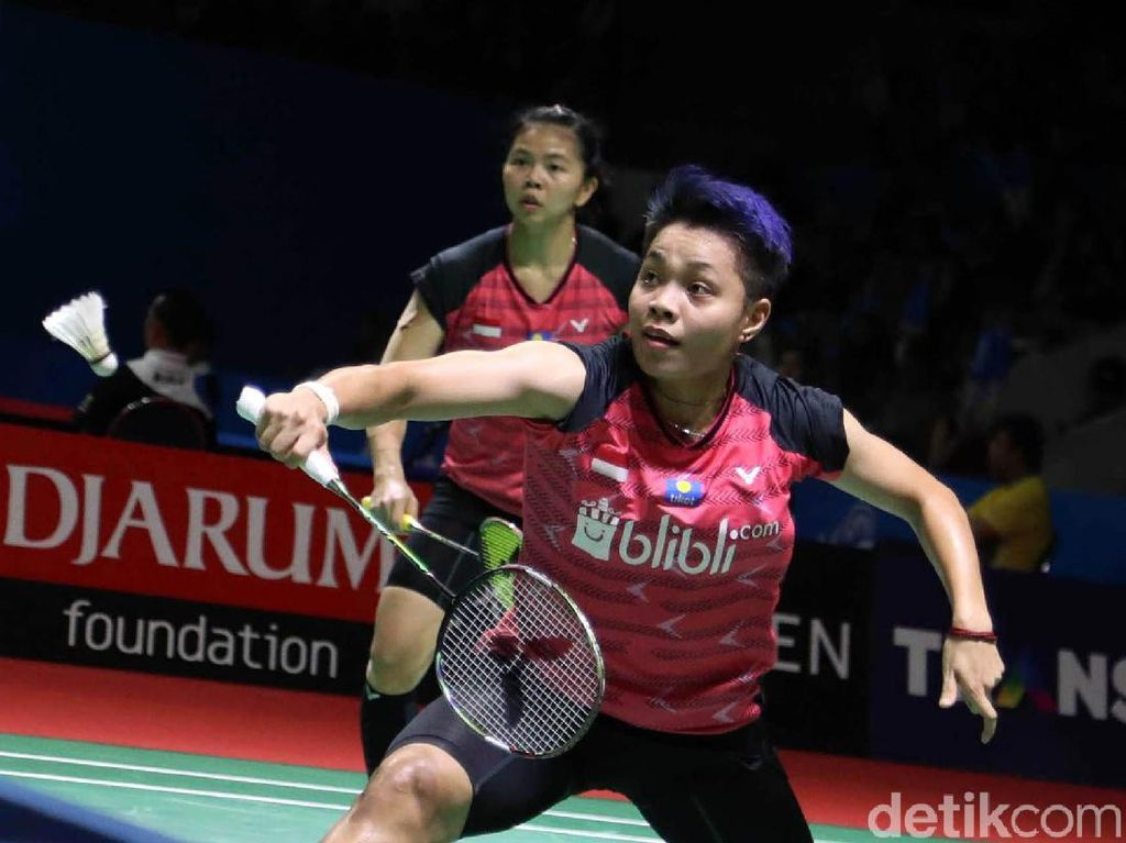 Greysia/Apriyani Melaju ke Babak Kedua Indonesia Open 2019