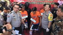 4 Begal yang Rampas Motor Mahasiswa di Bangkalan Madura Diringkus