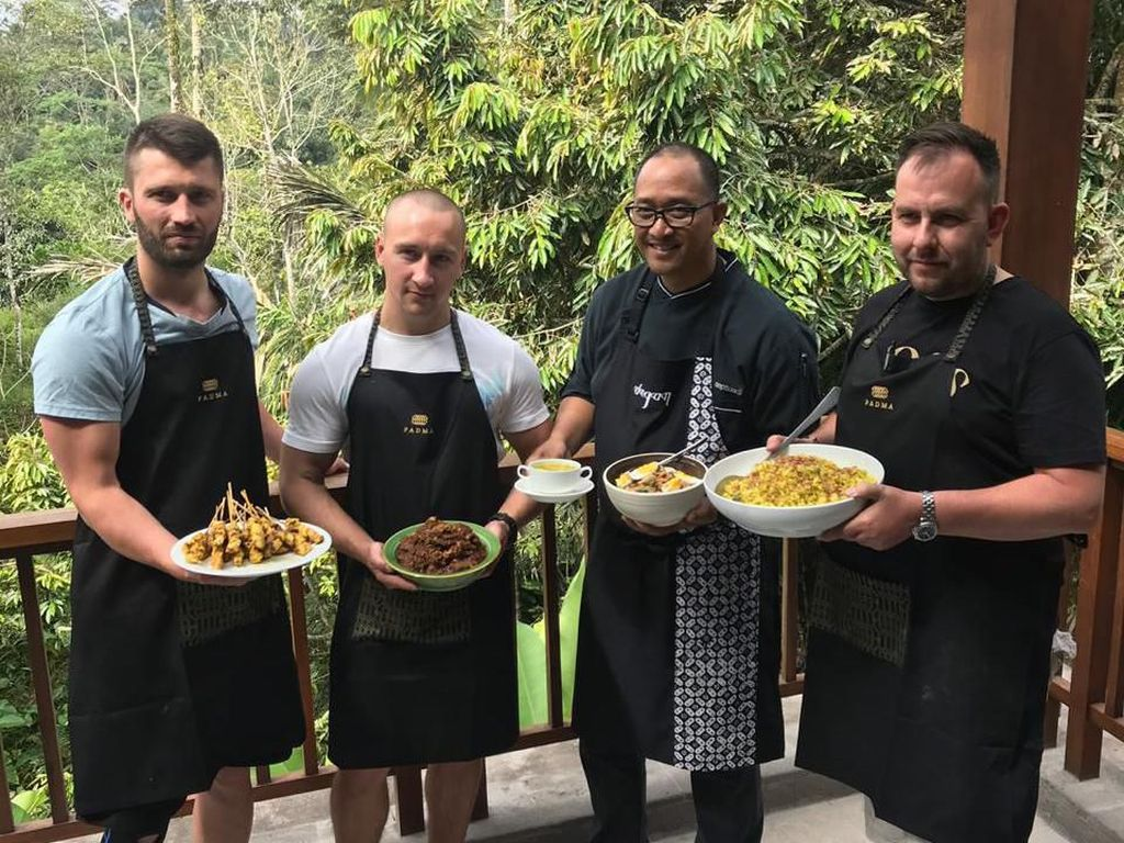 Chef Internasional Kagum dengan Cita Rasa Bakso hingga Soto