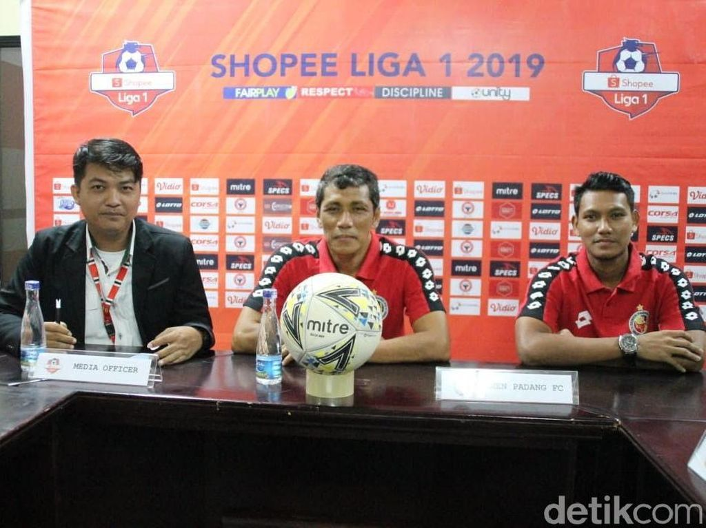 Menjamu Bhayangkara FC, Semen Padang Maksimalkan Status Tuan Rumah