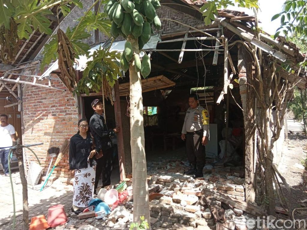 Gempa Bali Rusak Sembilan Bangunan di Banyuwangi