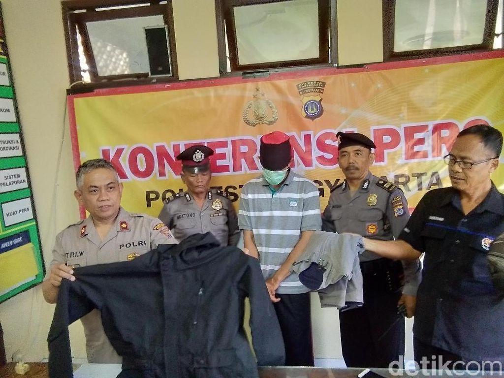 Cabul! Remas Payudara Bule, Guru Honorer di Yogya Diciduk Polisi