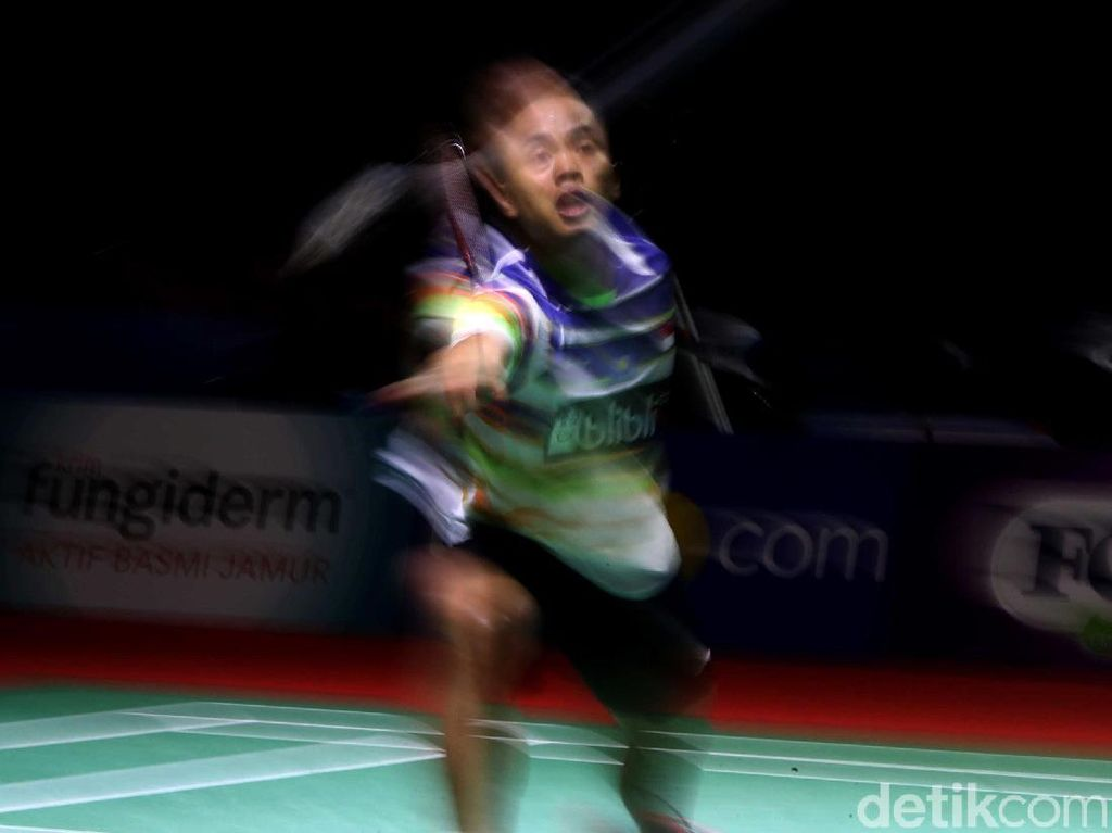 Anthony Ginting Kalahkan Wakil China Lewat Rubber Set