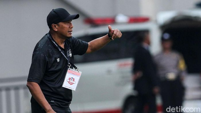 Pelatih Tira Persikabo, Rahmad Darmawan. (Foto: Rifkianto Nugroho/detikcom)