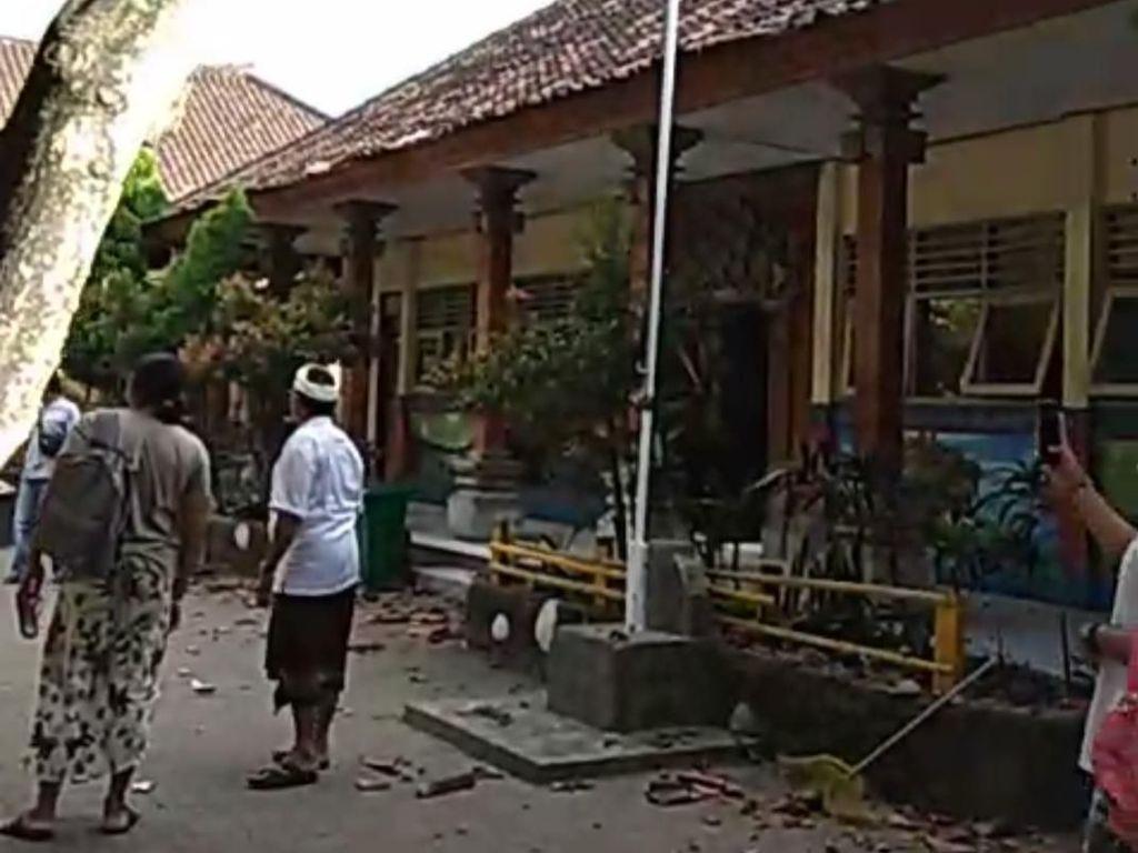 Pascagempa M 6 di Nusa Dua Bali, Terjadi 7 Kali Gempa Susulan
