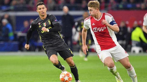 Mattihjs de Ligt jadi pemain top ketiga yang didatangkan Juve jelang musim 2019/2010.