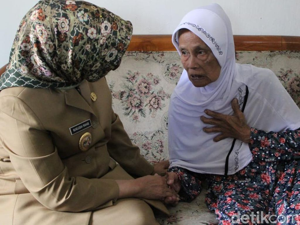 Sumiati, Nenek Usia 107 Tahun Asal Jombang Jadi Haji Tertua di Jatim